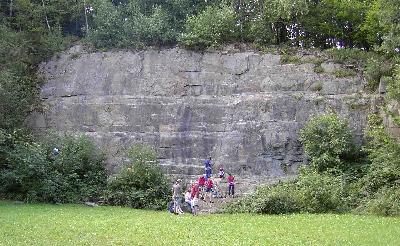 Klettersteig Quarzit Wand : Helmut karbachs kletter homepage